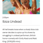 Ibiza Undead splatters onto UK TV screens!